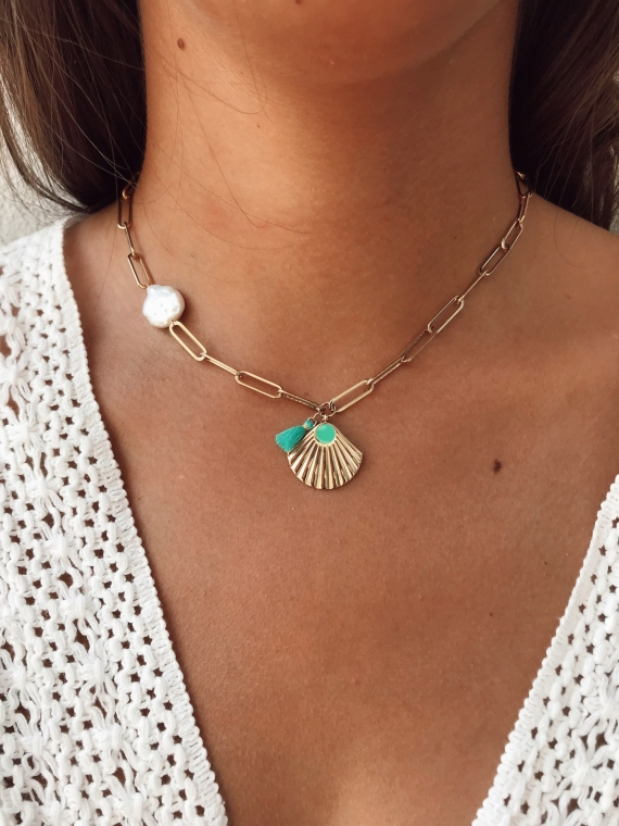 Necklace DRADE gold