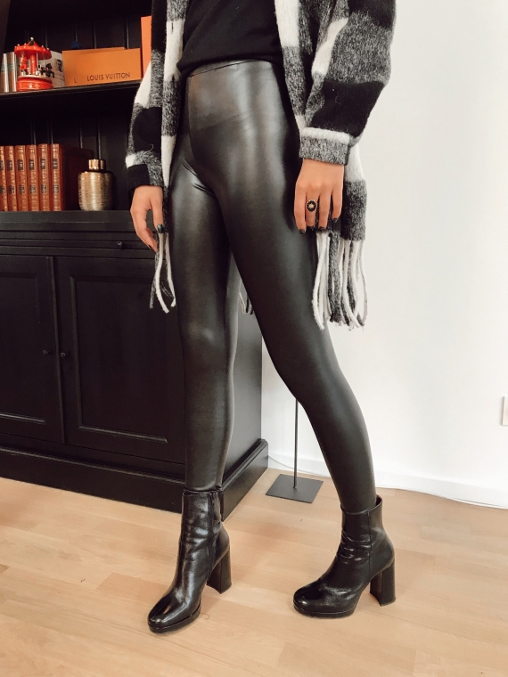 Legging simili cuir CHARLIE