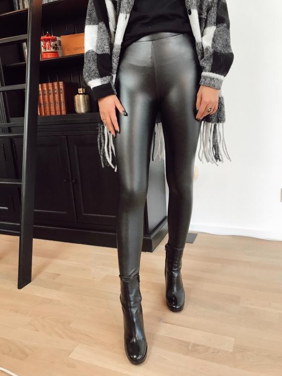 Leatherette leggings CHARLIE