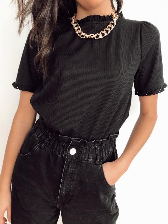 T shirt MAZURE noir