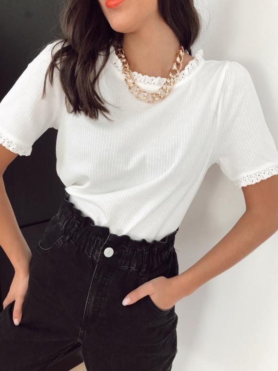 T shirt MAZURE blanc