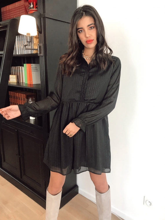 Black ONDINE dress