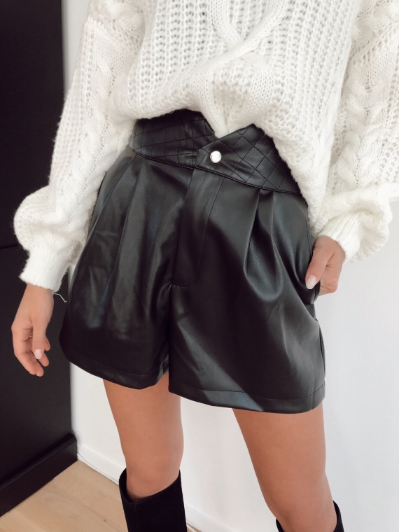 Short simili cuir LANVER