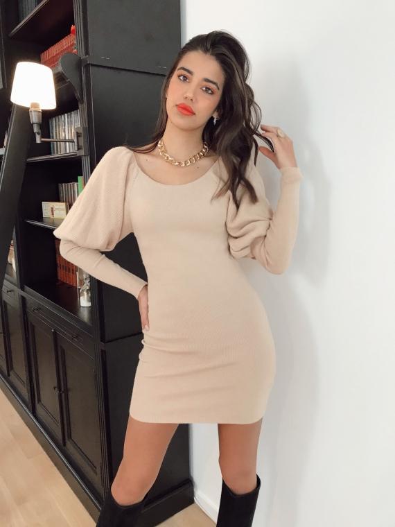 Beige CRISTA Dress