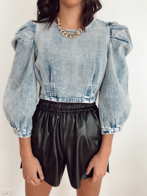 Blue DIDO jeans top