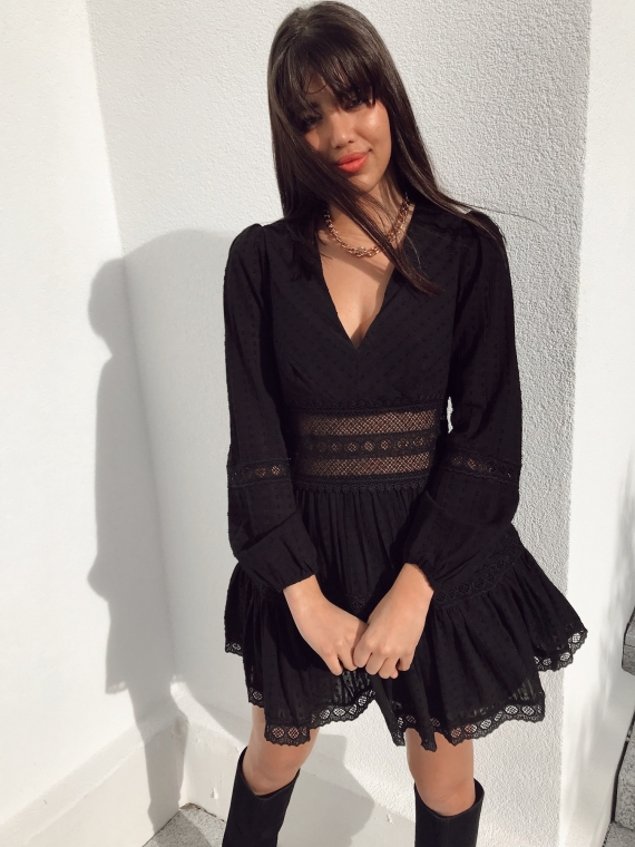 Robe CLODIE noire