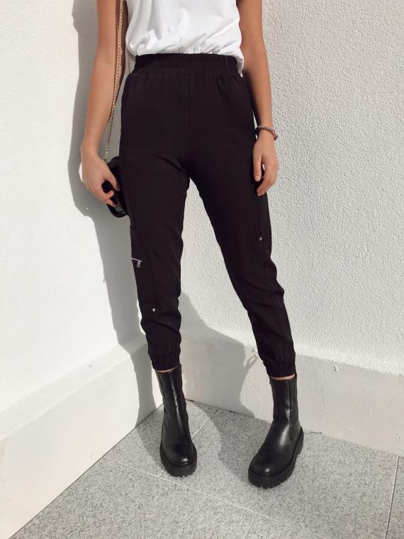 Pantalon cargo ANTONIN noir