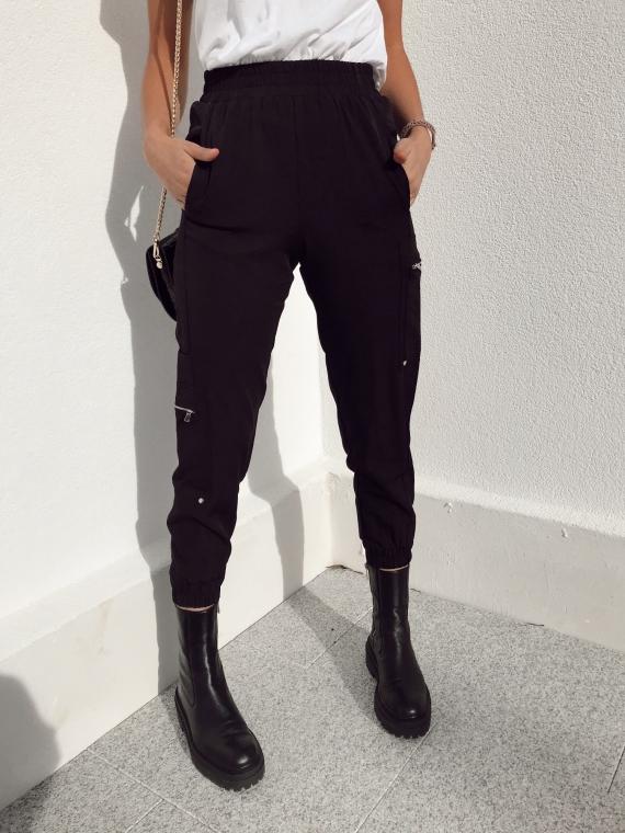 Black ANTONIN cargo pants
