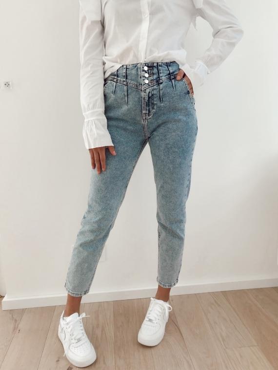 Blue JACOB mom jeans