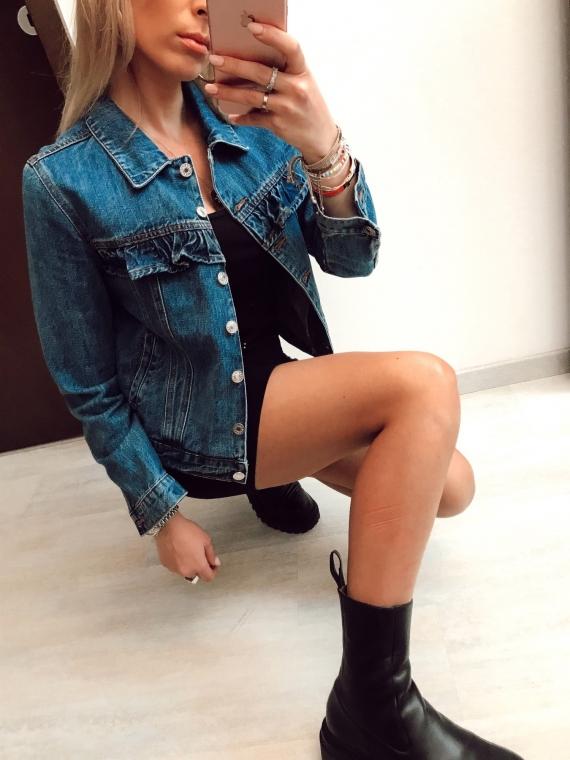Veste en jeans volants RITA