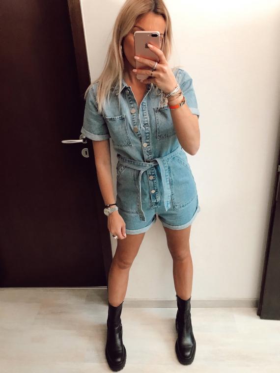 Combinaison en jeans SUZY