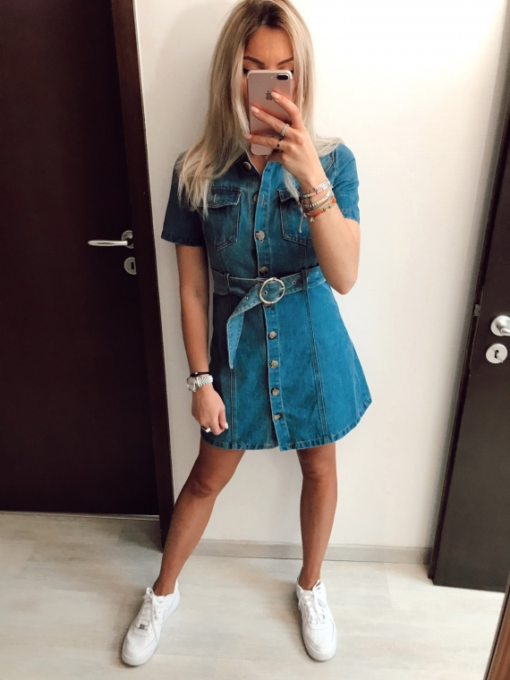 Denim DAISY dress