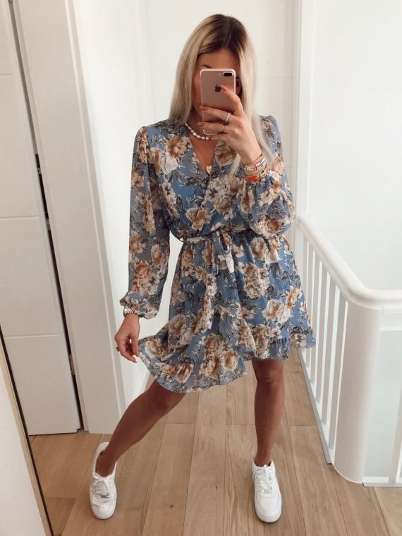 Lavender MANDALA Flower Dress