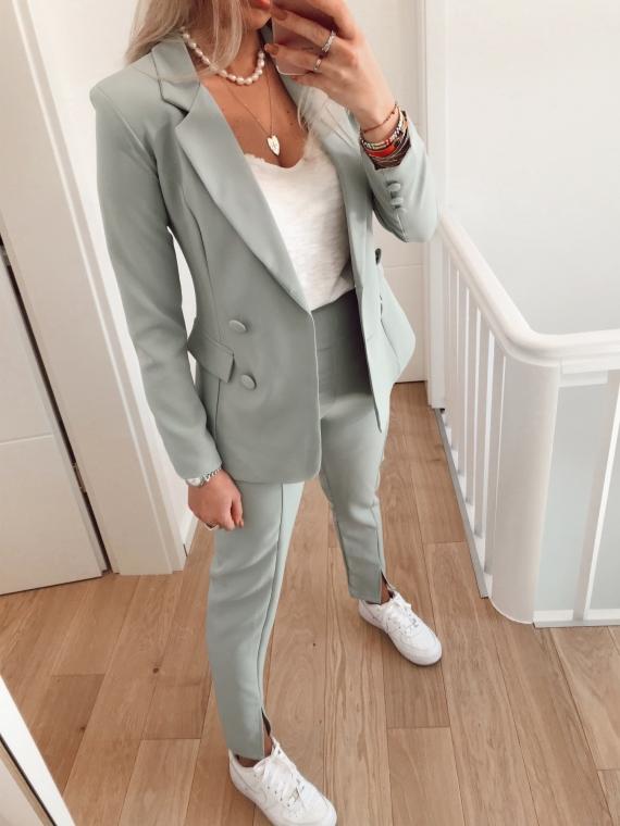 PRE ORDER Light green TALIS blazer and pants set