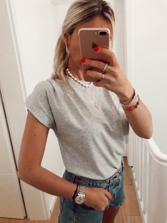 T shirt basique NATY gris