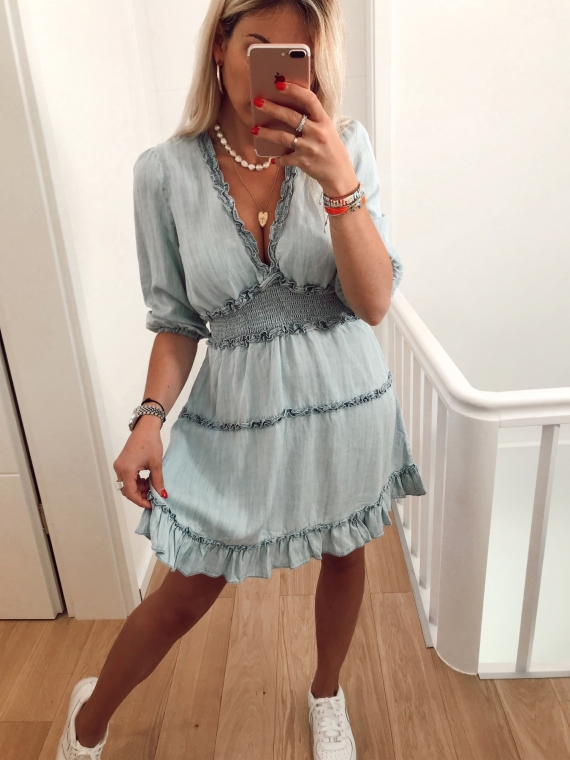 RILEY Frilly Dress