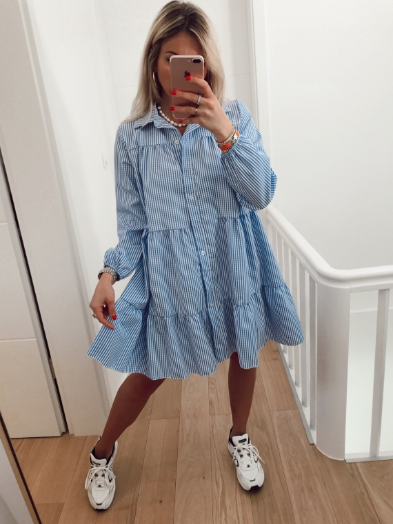 Robe VICHY bleue