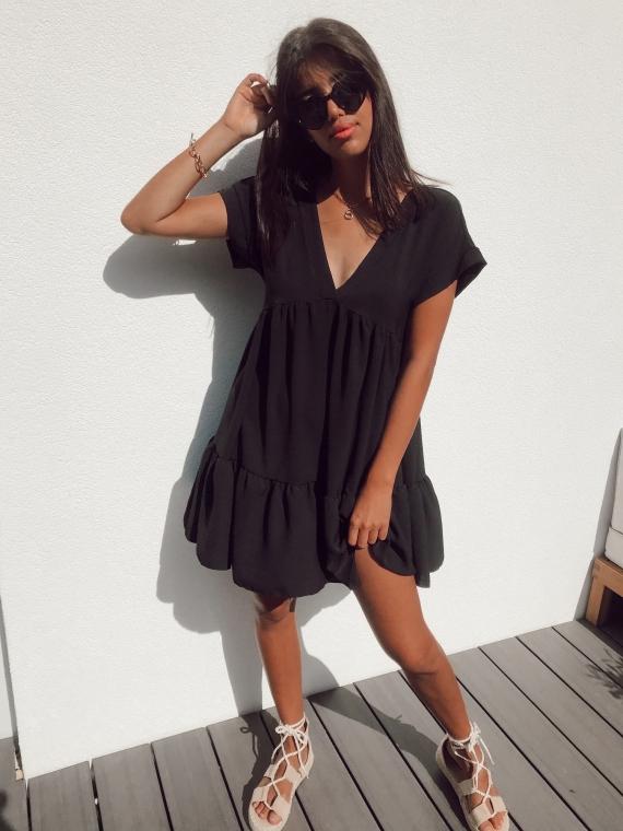 Black FALLON dress