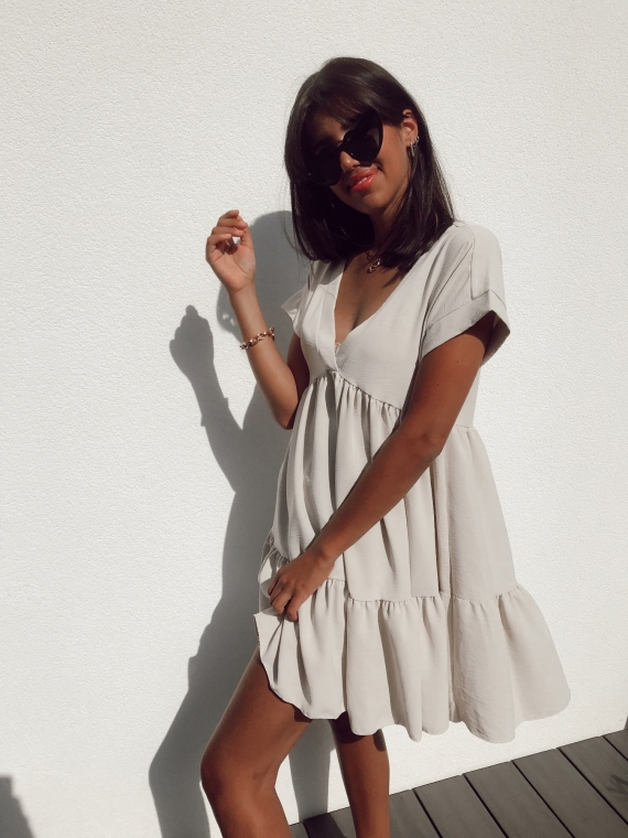Robe FALLON beige