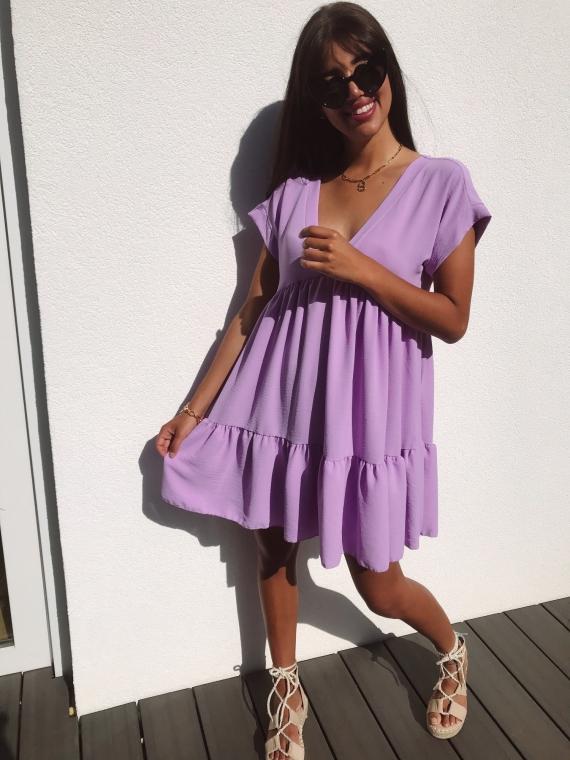 FALLON lilac dress