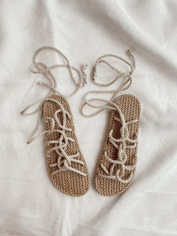 Cord sandals WORD