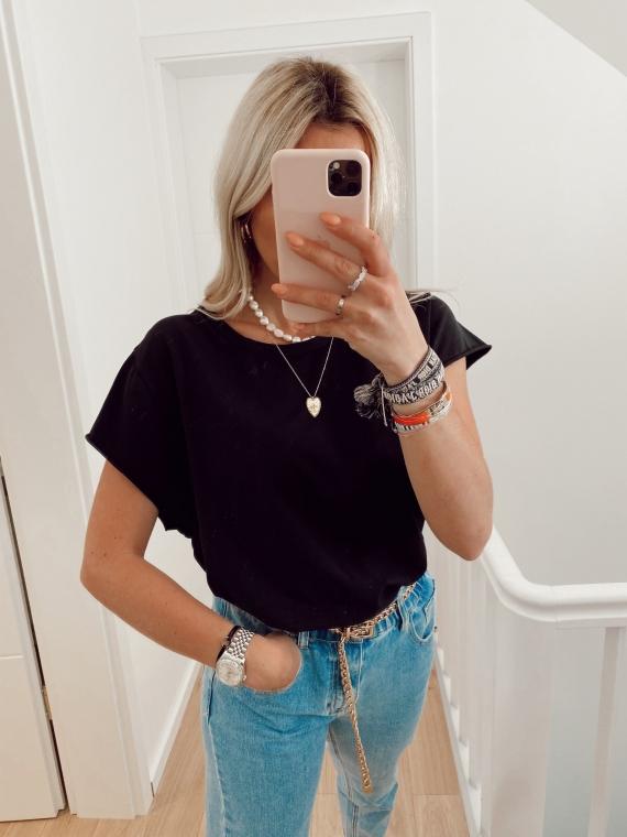 T shirt basique GLANCE noir