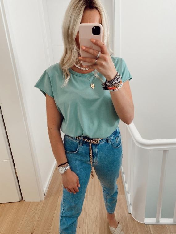 T shirt basique GLANCE vert d'eau