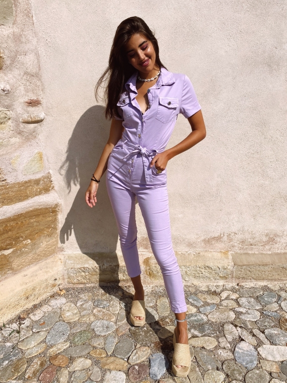 Lilac MAYLINE Cargo Suit