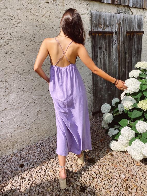 Lilac BLUM cross back dress