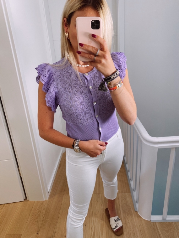 Lilac ANOUK top