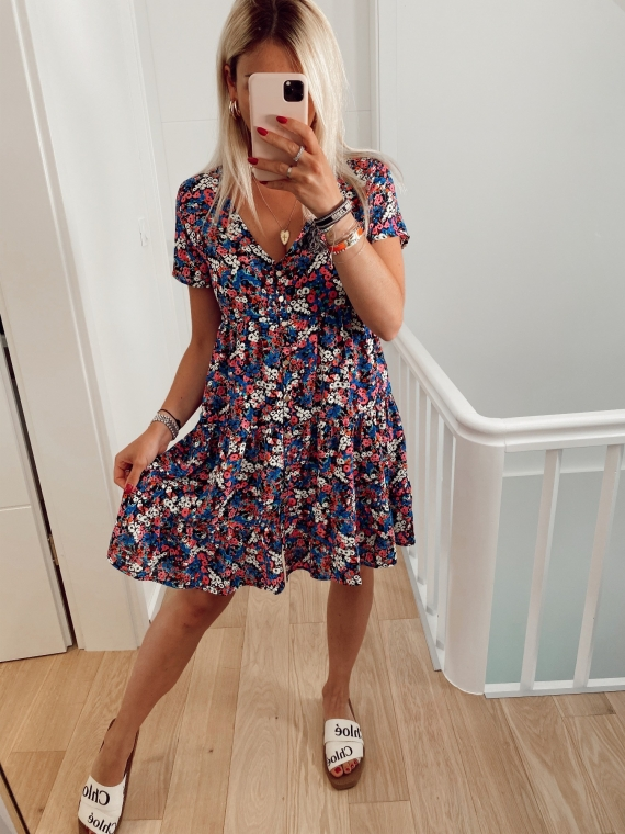 Black RAPH floral dress