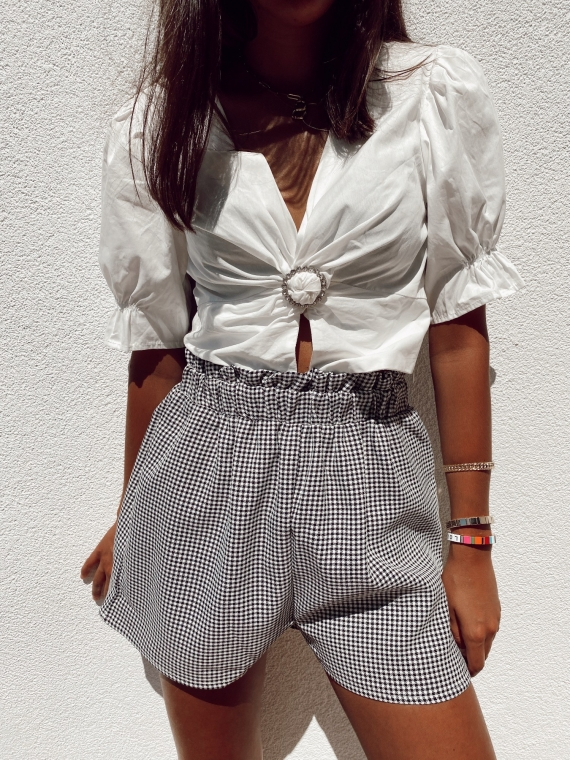 Gingham KEEPER Shorts