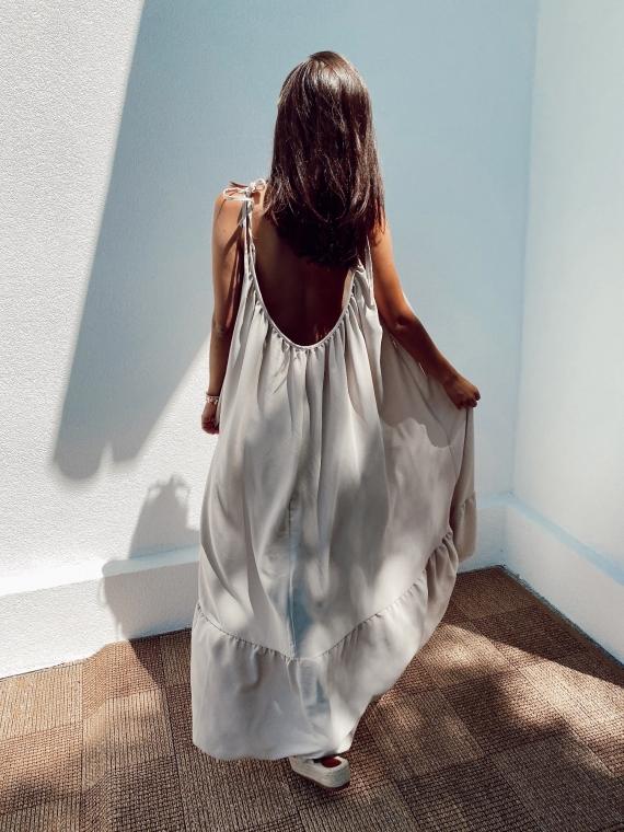Beige RAIN dress
