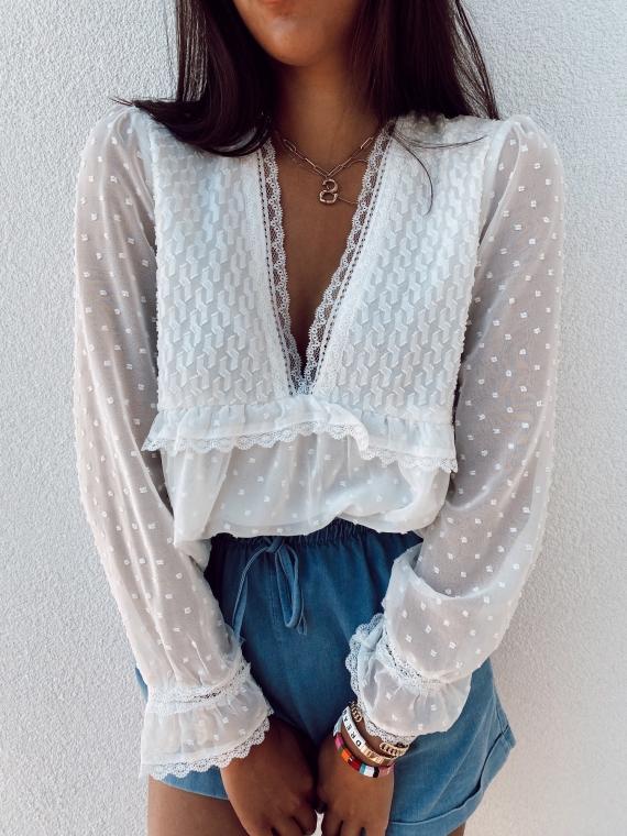 White MILANO blouse