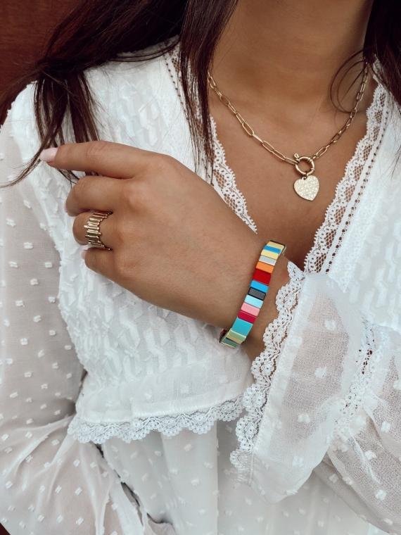 Bracelet petites baguettes RAINBOW