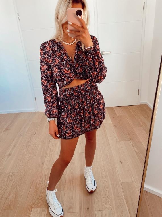 WELL Skirt and Top Set