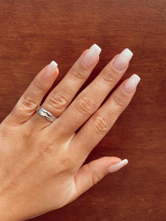 Silver ANNEAU ring
