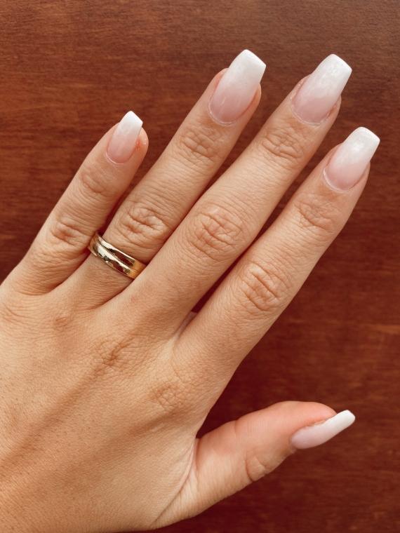 Golden ANNEAU Ring