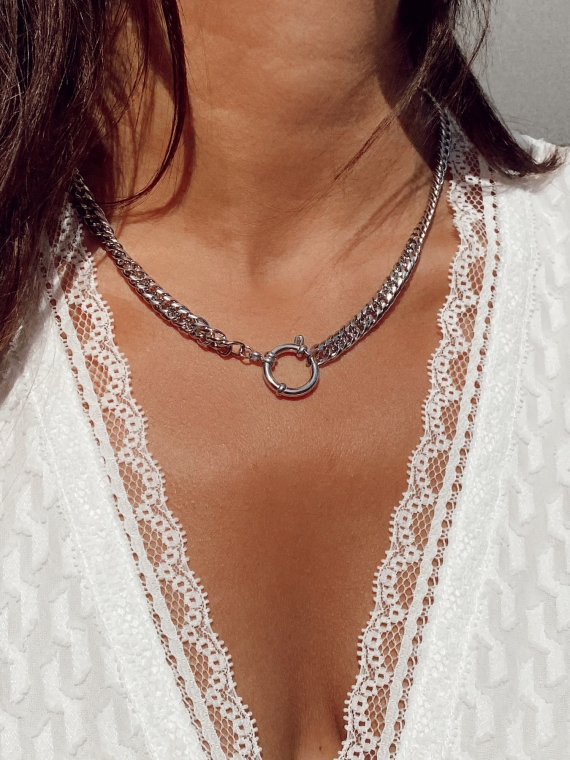 Silver CHAINE Necklace