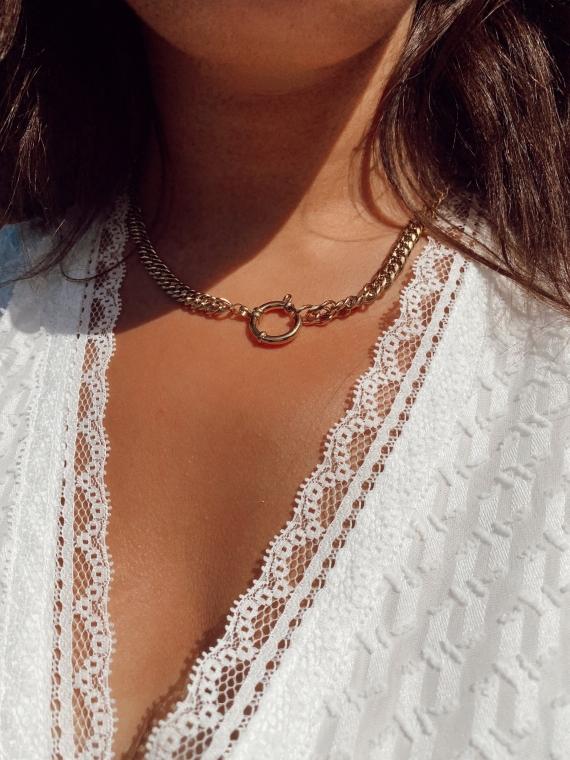 Golden CHAINE Necklace