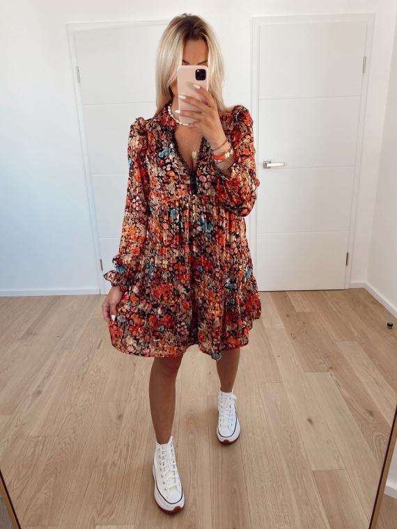 Black SMITH floral dress