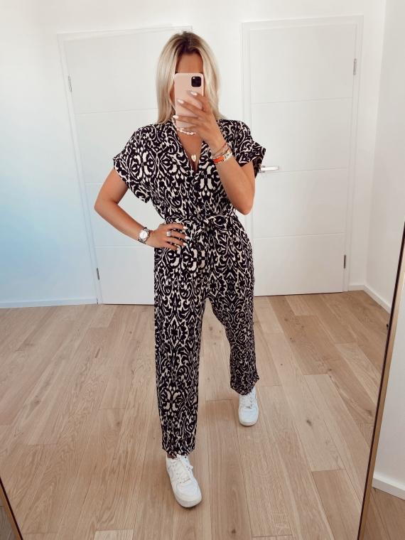 AMORET patterned jumpsuit