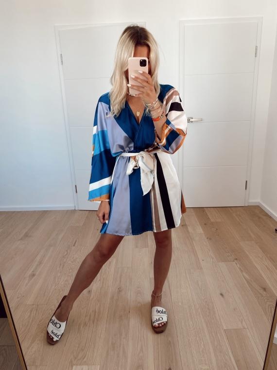blue BLOSSOM dress