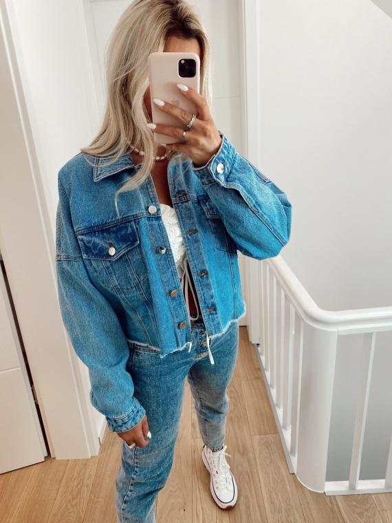 POPPY oversize denim jacket