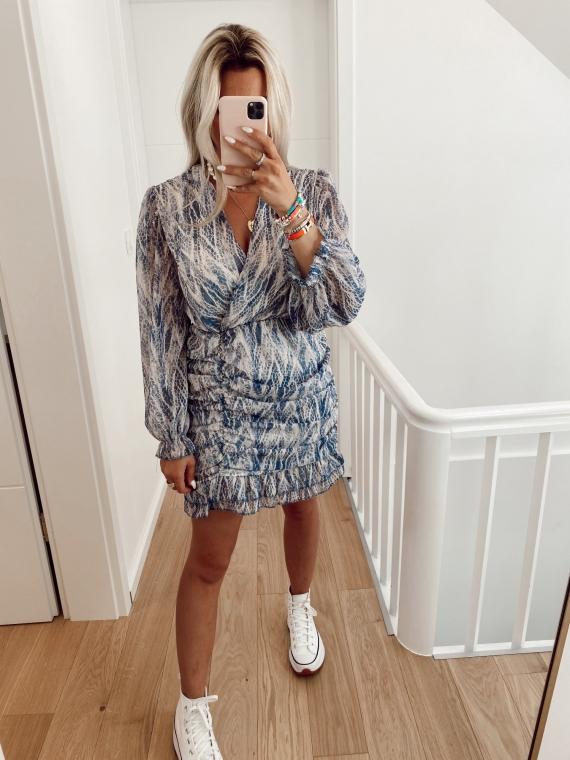Blue CAÏMAN dress