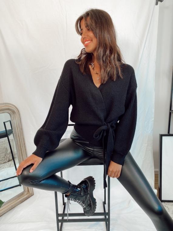 Black FLORENT cardigan