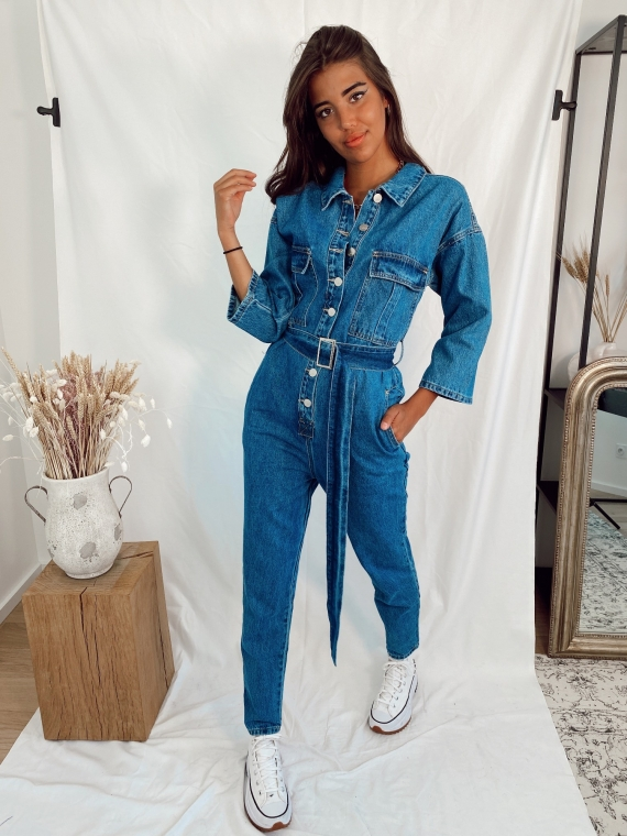 Combinaison JOCELYN en denim