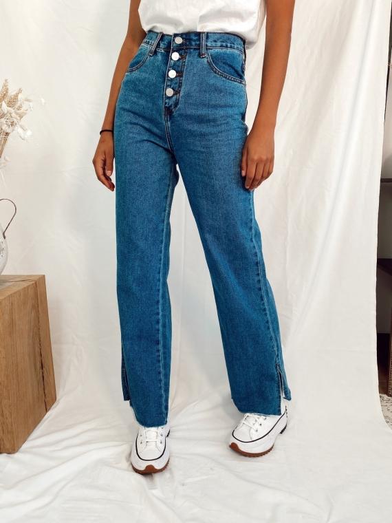 Jeans mom fendu MORNING