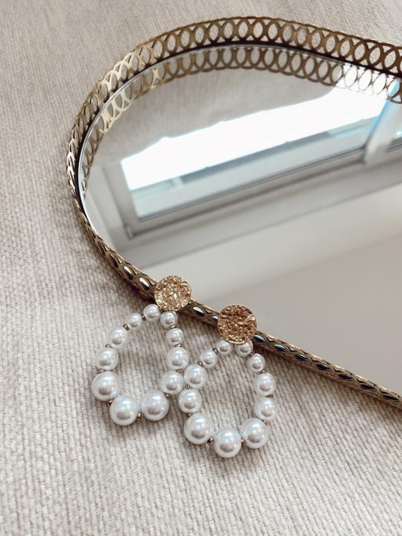 Boucles d'oreilles perles SIRINE