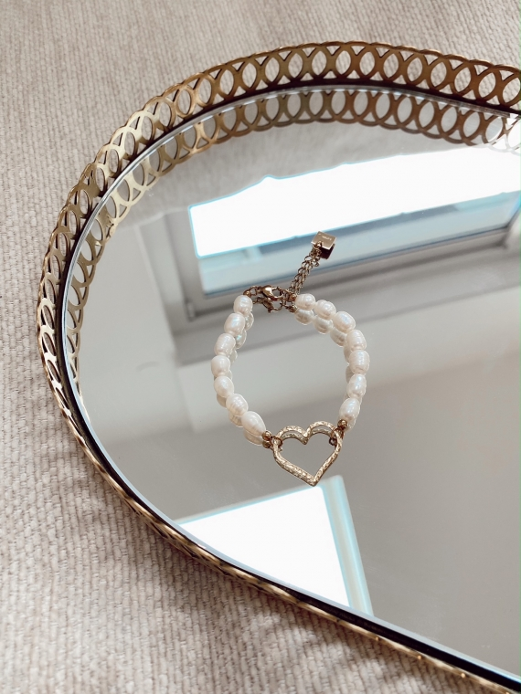 Bracelet perles coeur CHILLS